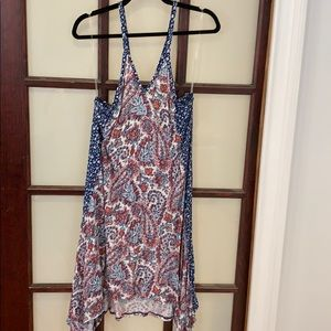 Lucky brand size medium Midi cotton dress
